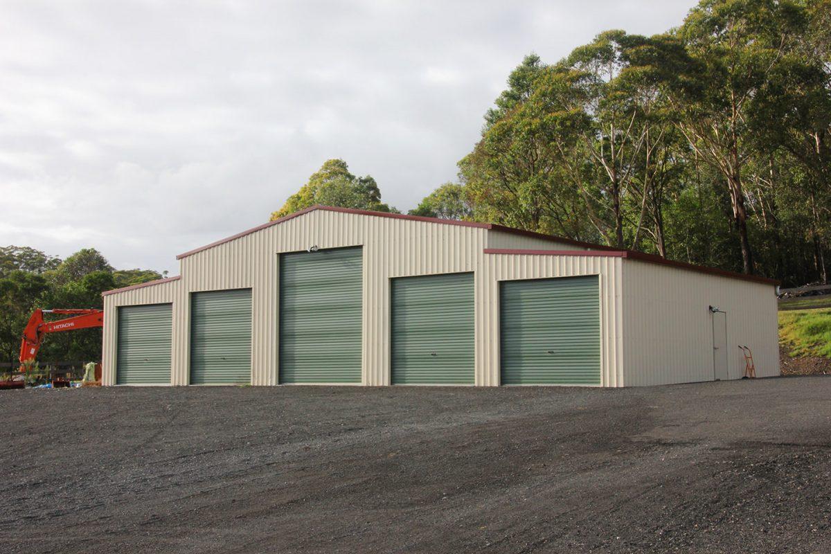 Machinery shed