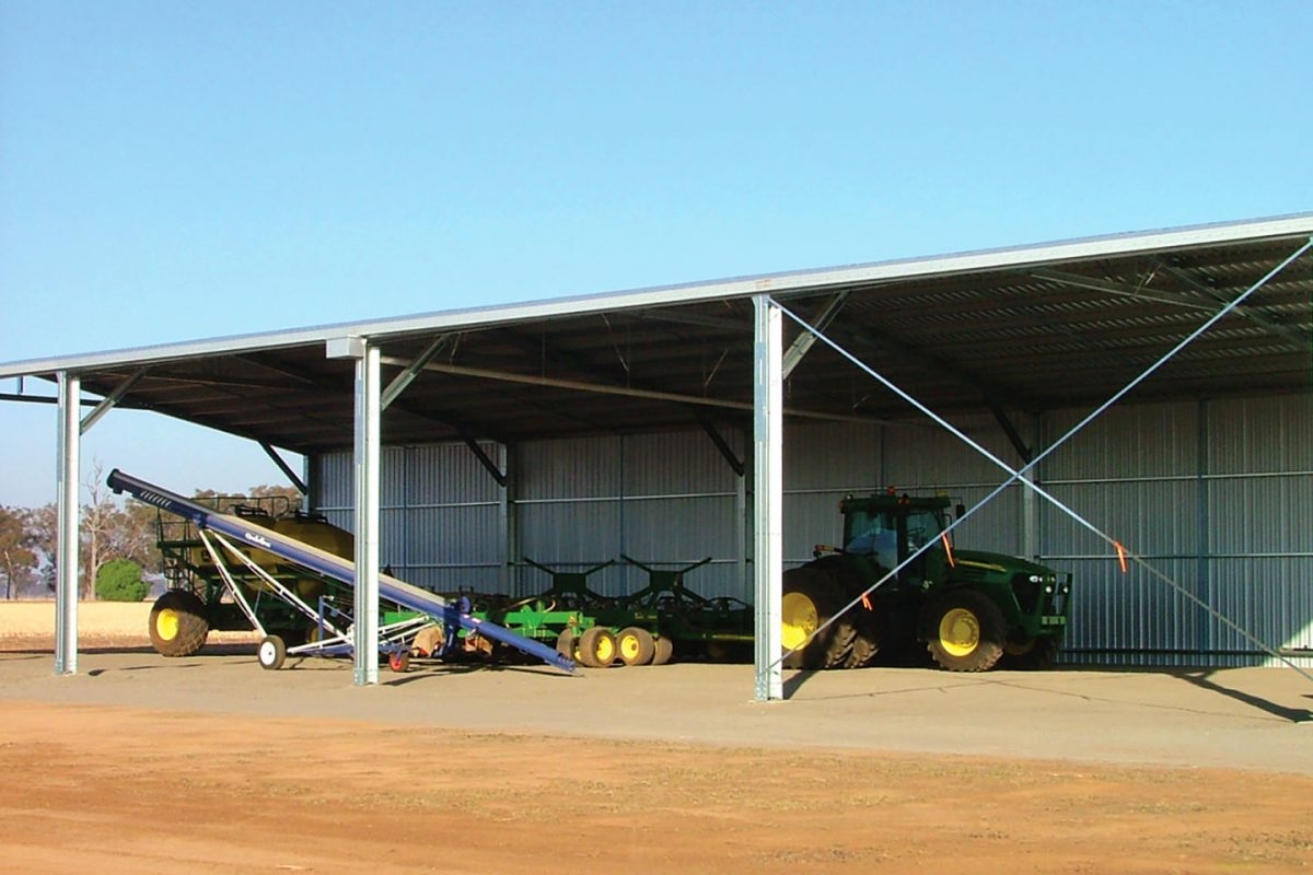 Machinery Sheds - Commercial Sheds for Sale - Commercial
