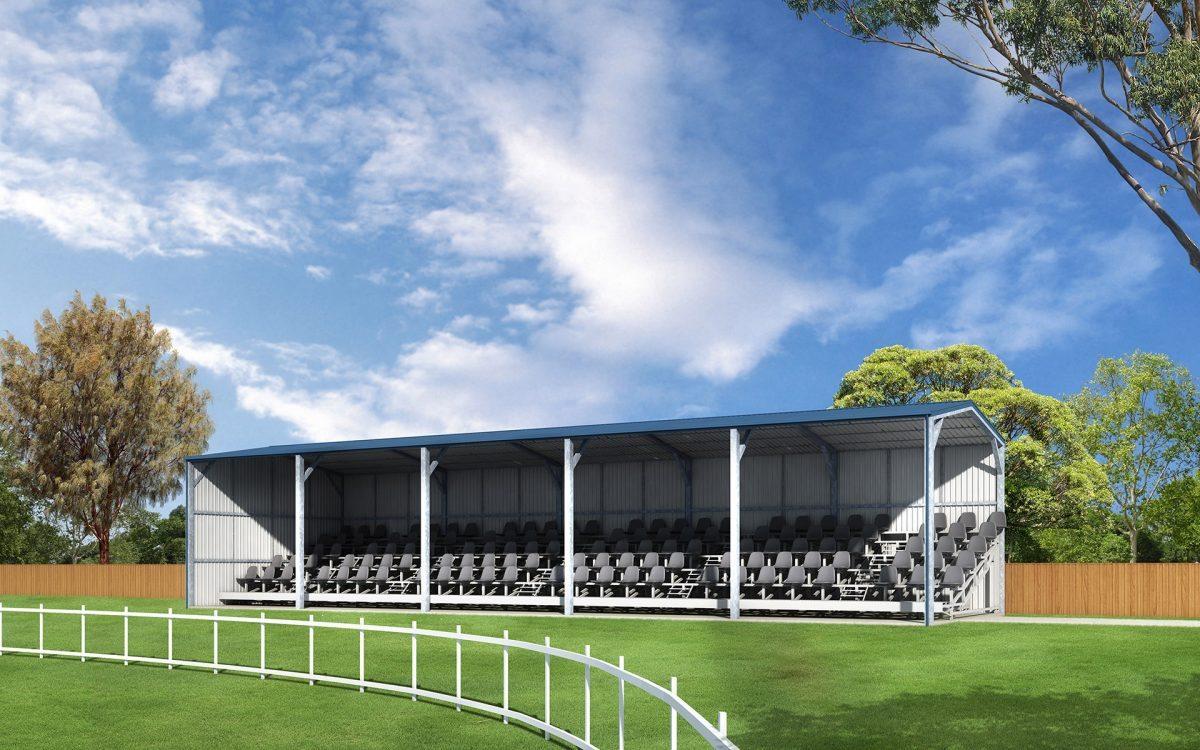 Covermaster grandstand