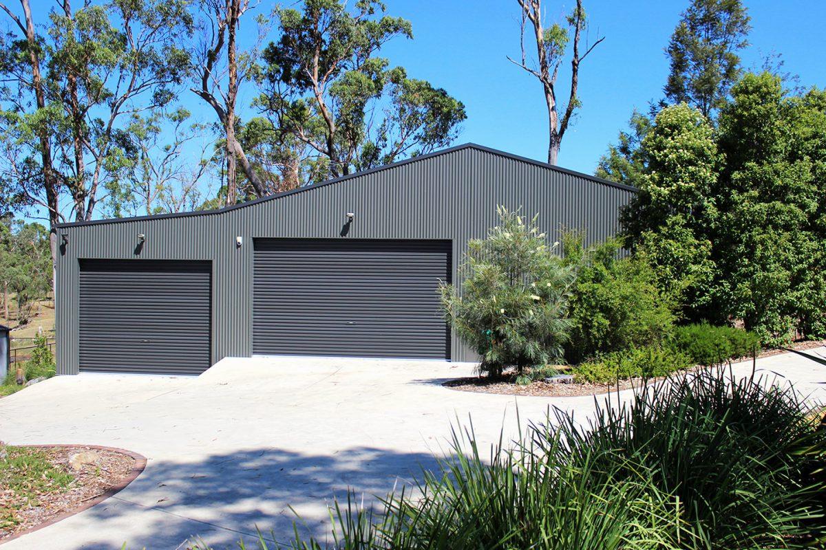 Steel Garages and Sheds for sale - Ranbuild