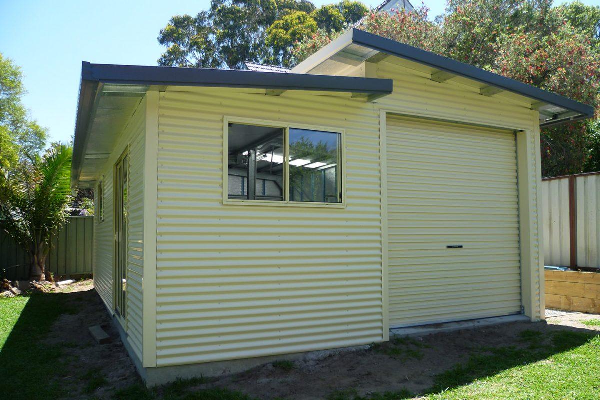 Skillion Roof Sheds And Garages Ranbuild