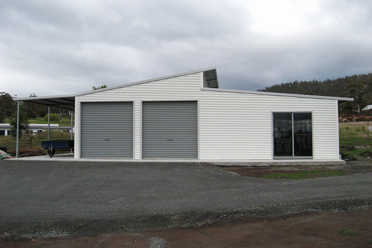 Skillion roof sheds and garages - Ranbuild