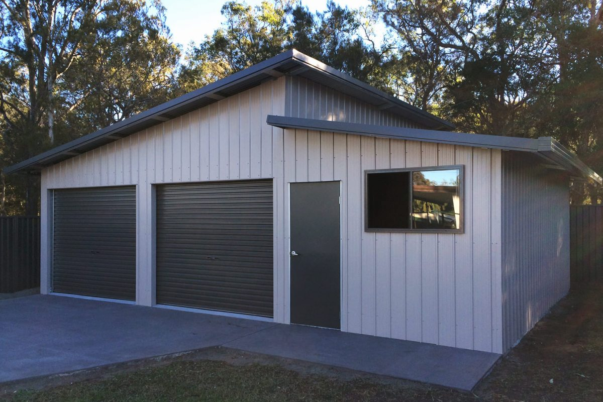 skillion roof sheds and garages