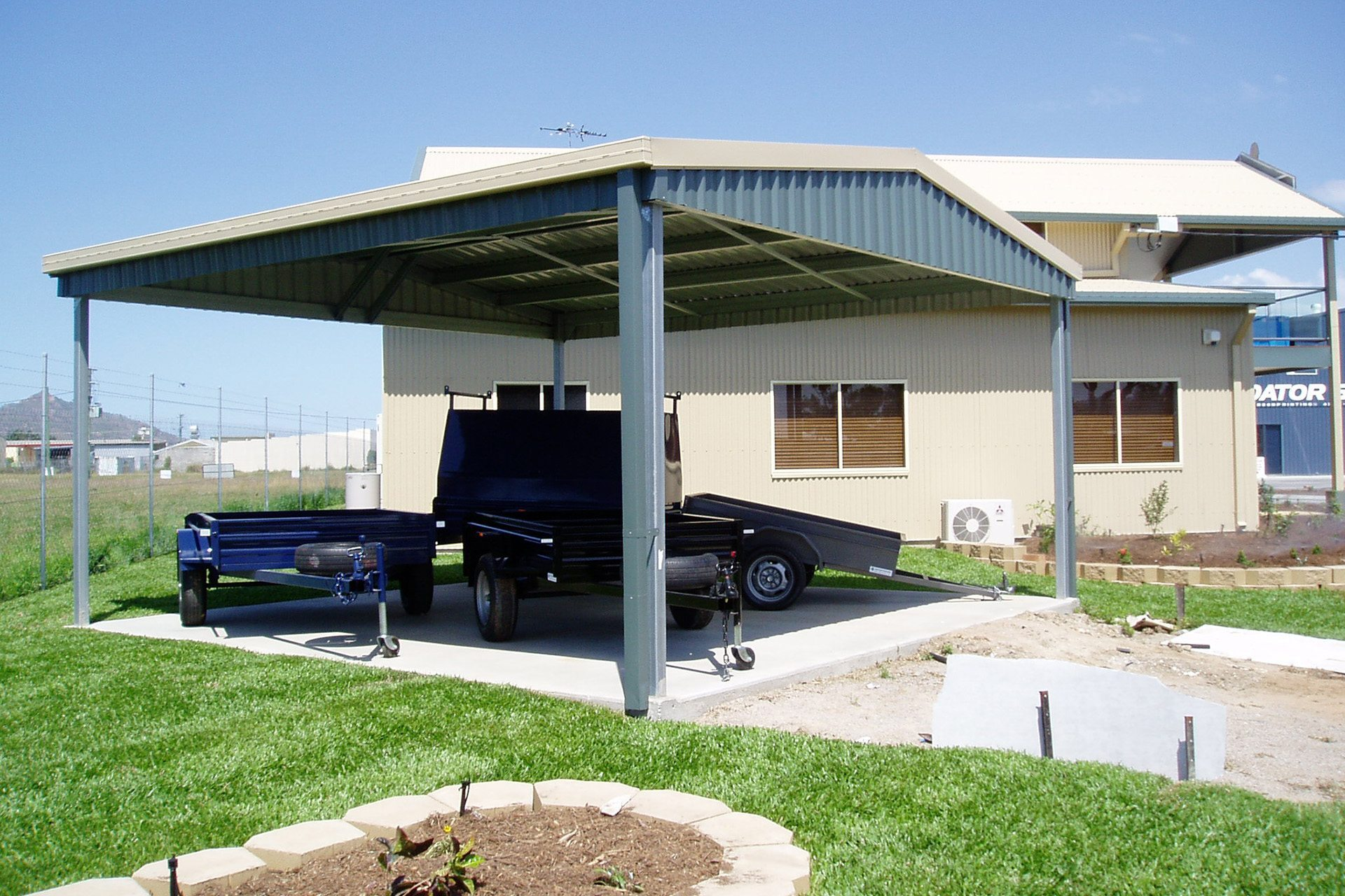 Carport Garage Kits : Carports sheds and garages for sale ranbuild