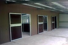 Day yard doors