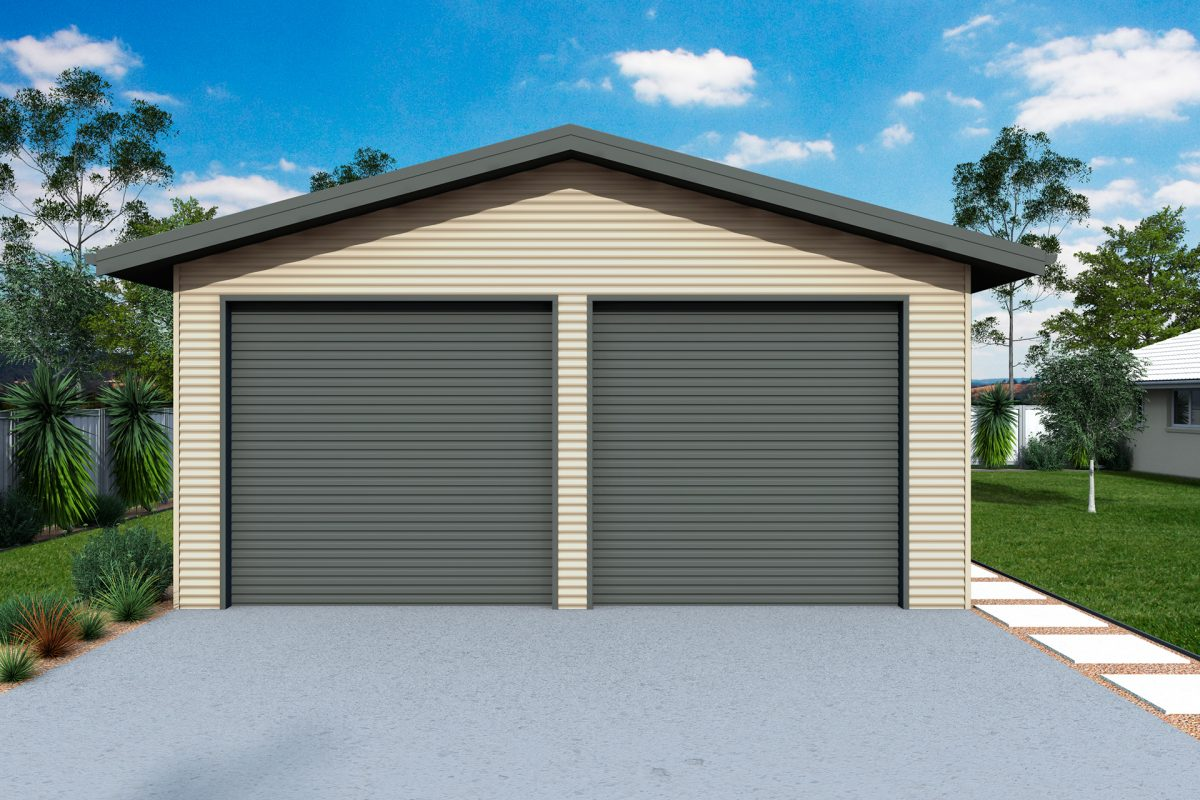 Garages and sheds with eaves for sale ranbuild for Shed roof garage