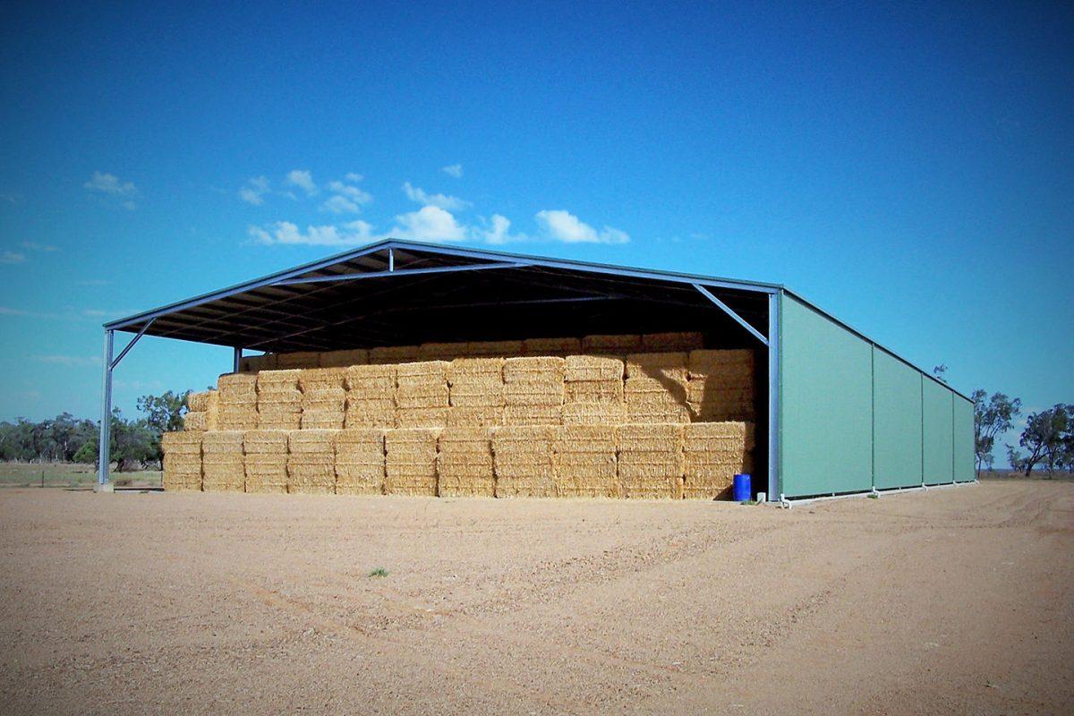 Hay sheds
