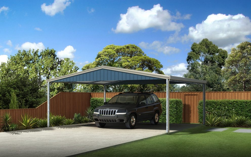 Carports gable and skillion for sale ranbuild for Gable carport prices