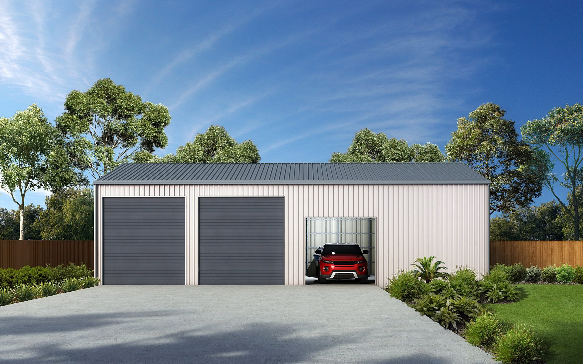 Triple garages and sheds for sale ranbuild triple garage solutioingenieria Image collections