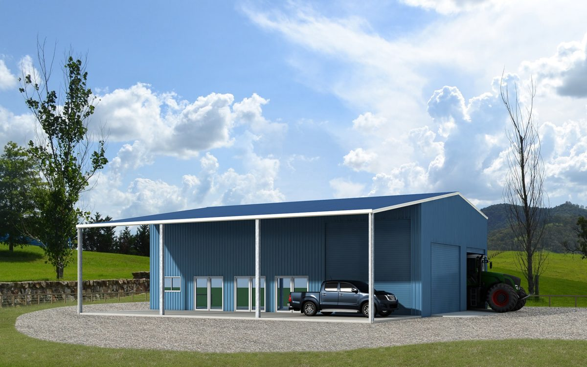 Rural storage with office