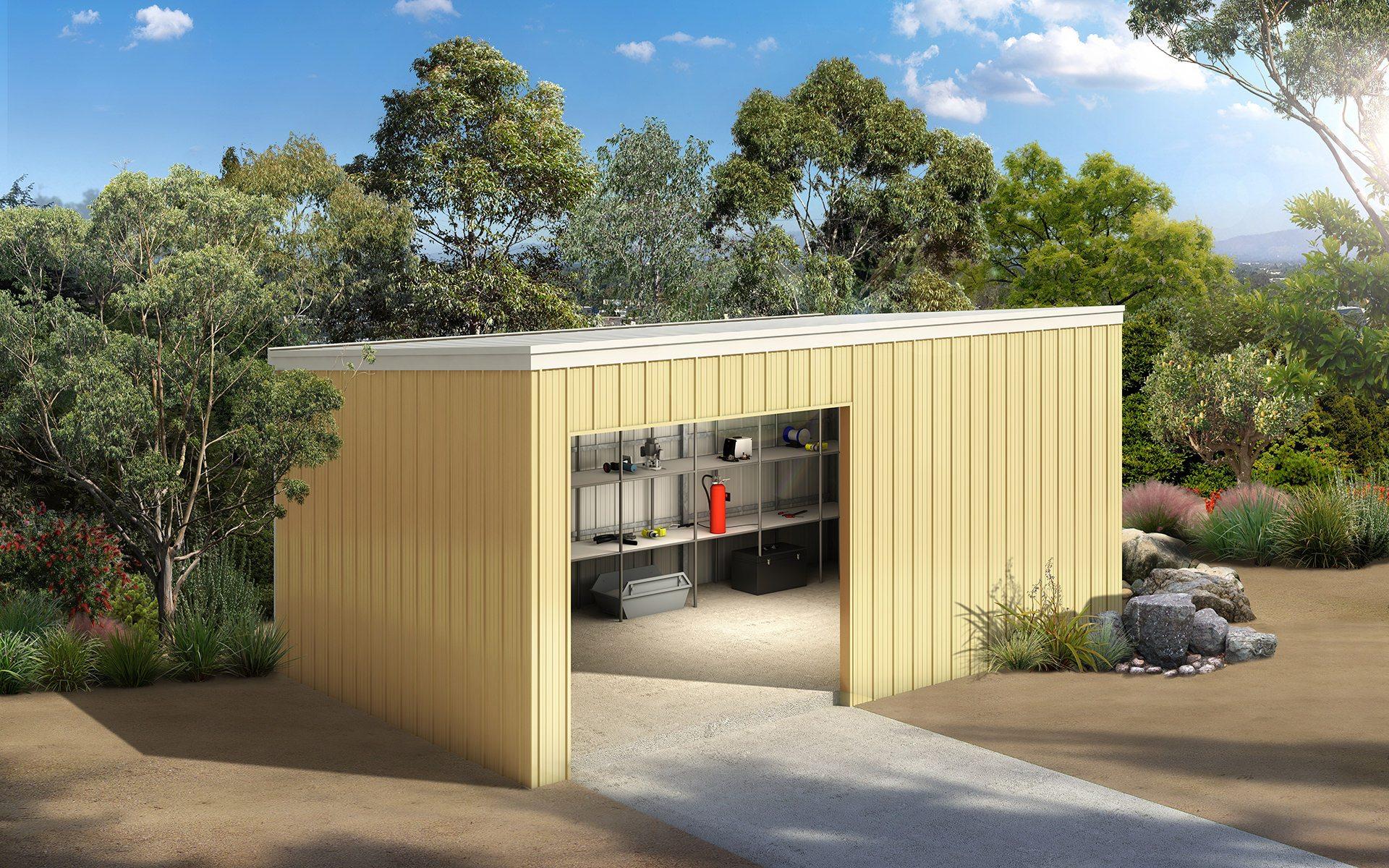 Skillion Sheds and Garages for sale - Ranbuild