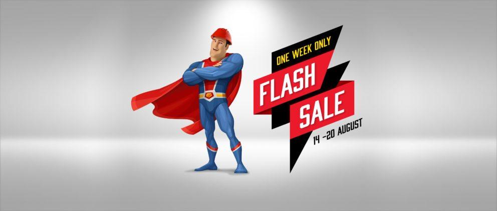 August Flash Sale Ranbuild