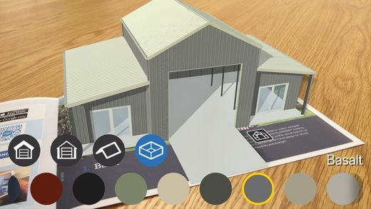 Ranbuild AR App phone