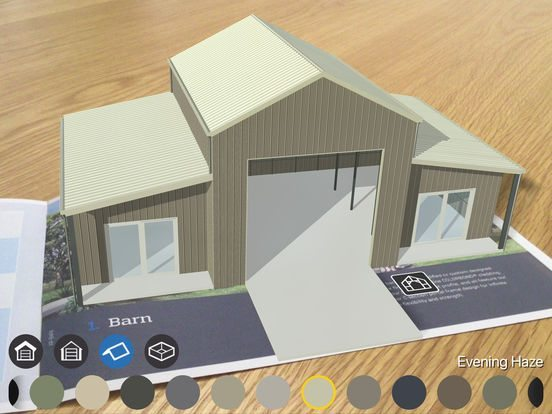 Ranbuild AR App tablet