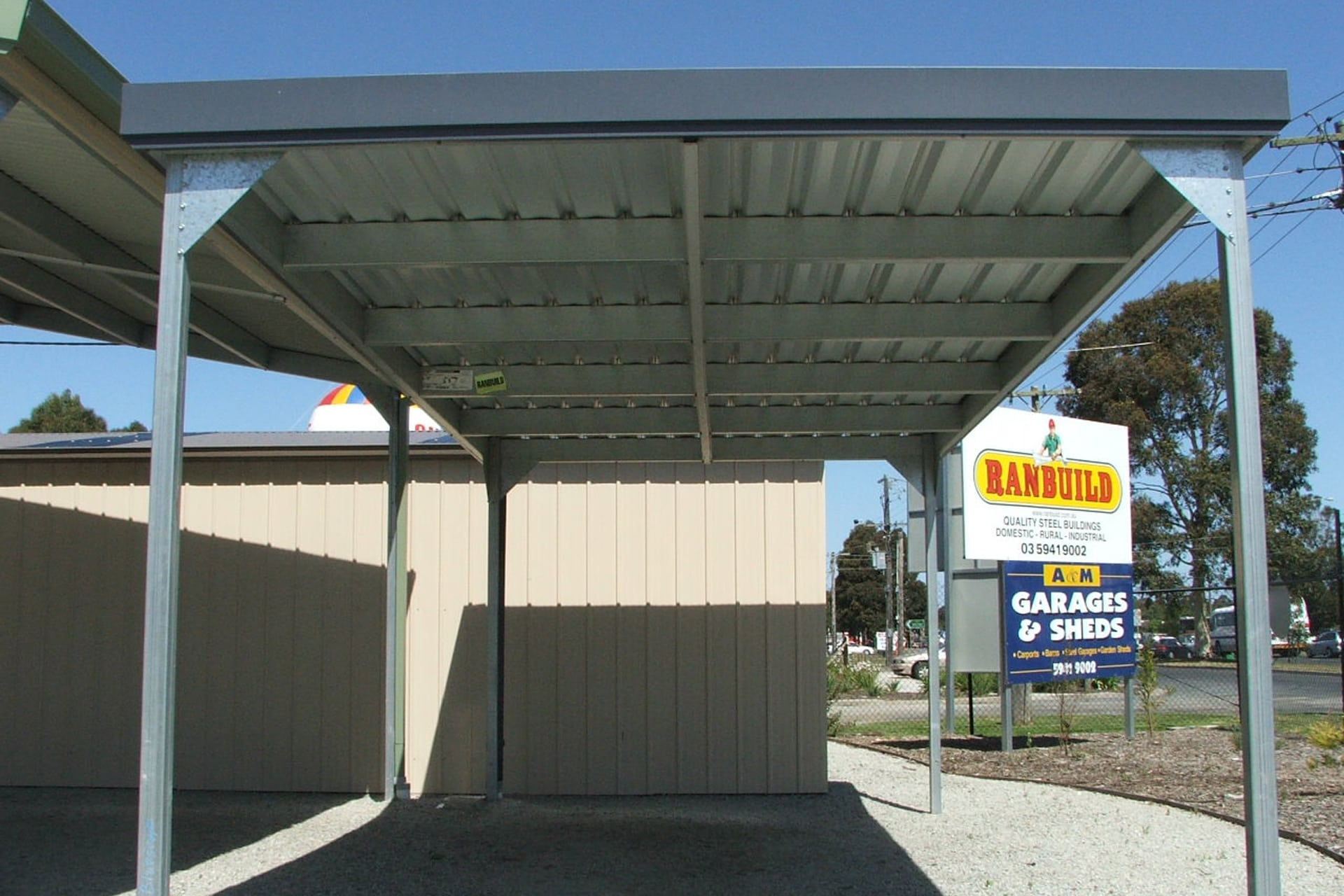 Carports sheds and garages for sale - Ranbuild