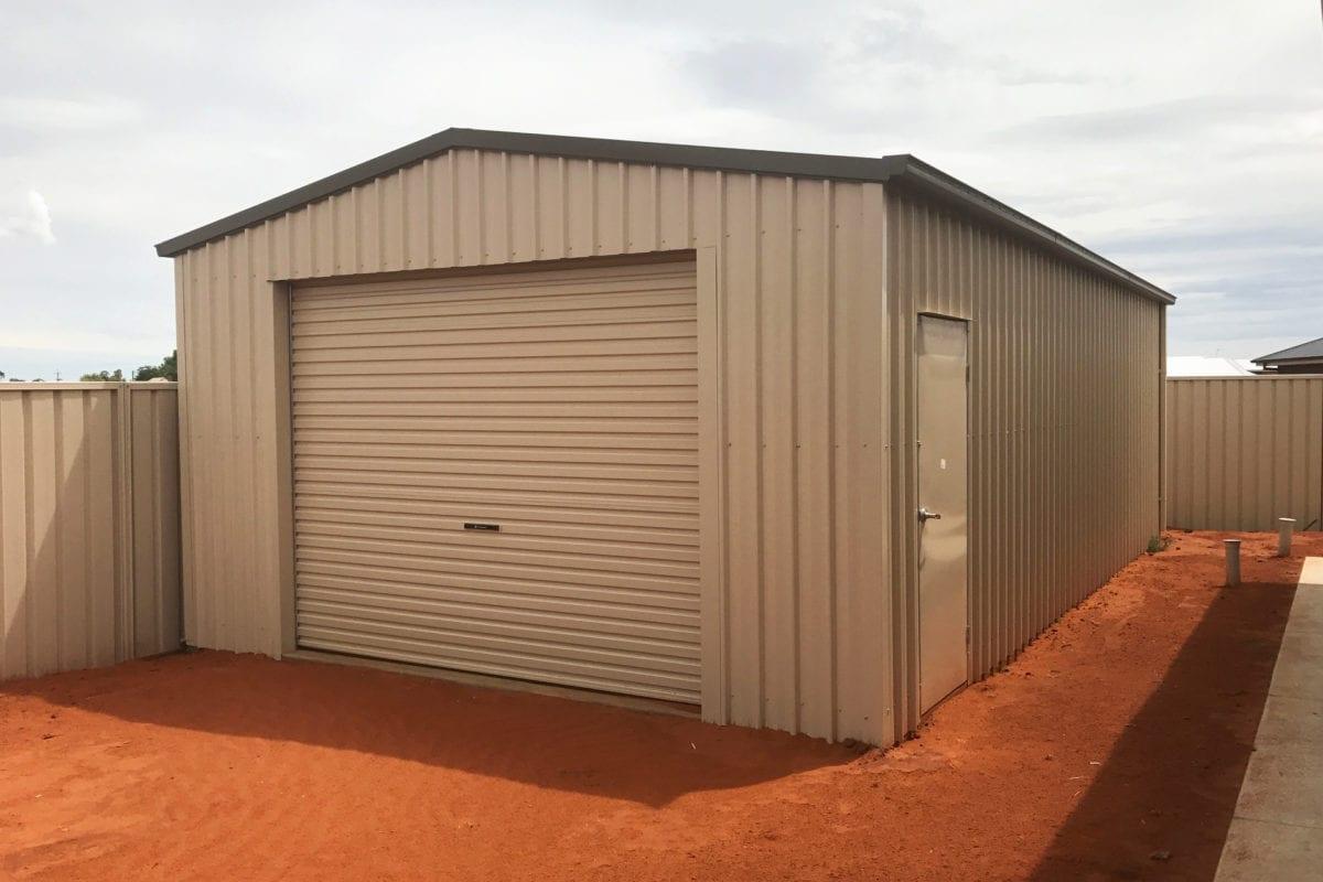 Premium storage shed