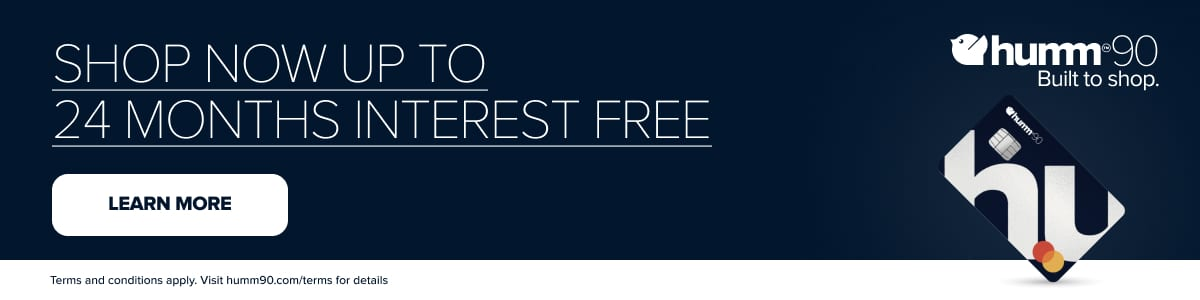 humm90 12 months Interest Free*